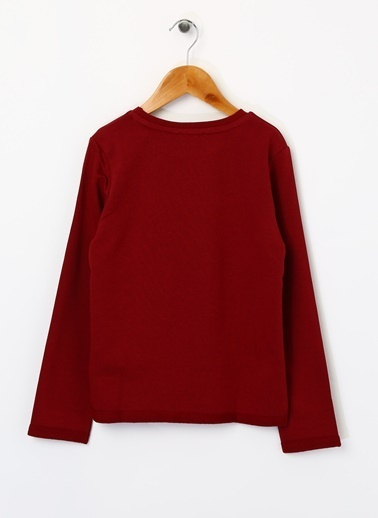 Pink&Orange Sweatshirt Bordo